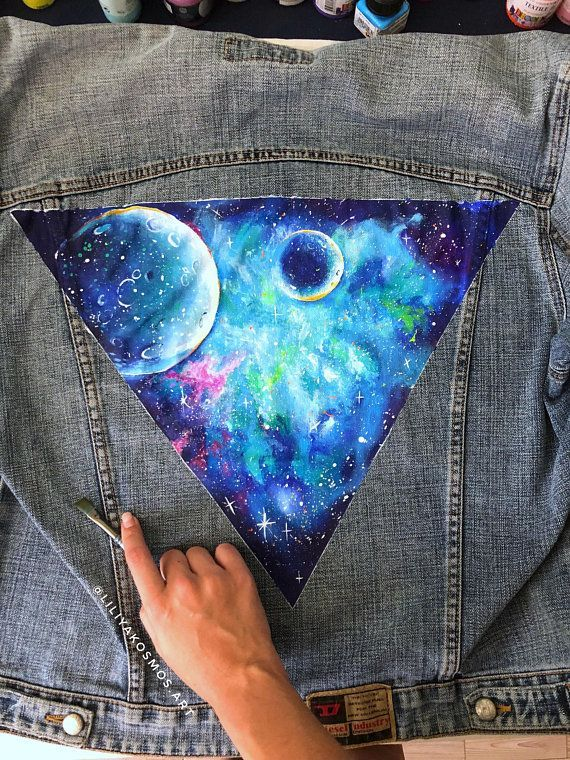 Hand painted custom denim jacket with  starry night celestial cosmos space galaxy Star chart (please - #Celestial #chart #Cosmos #custom #Denim #Galaxy #Hand #jacket #night #Painted #Space #Star #Starry #jeanjacketoutfits