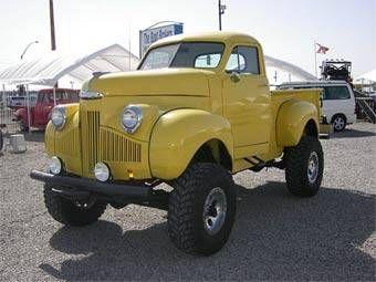 1947 Studebaker Custom 4x4 Pickup On Wheels Pinterest