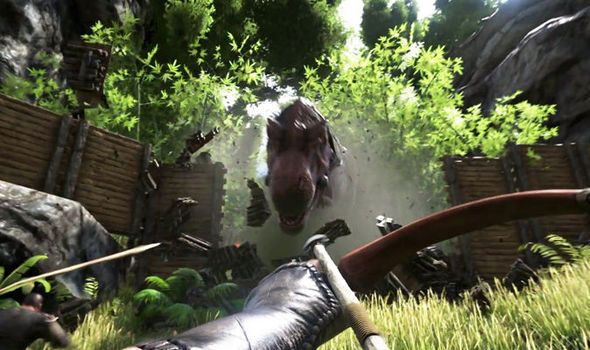 cool ARK Survival Evolved: Terrifying nocturnal dinosaur unleashed