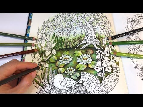 Daydreams Dagdrommar Coloring Book By Hanna Karlzon Youtube Coloring Books Love Coloring Pages Mandala Coloring Books