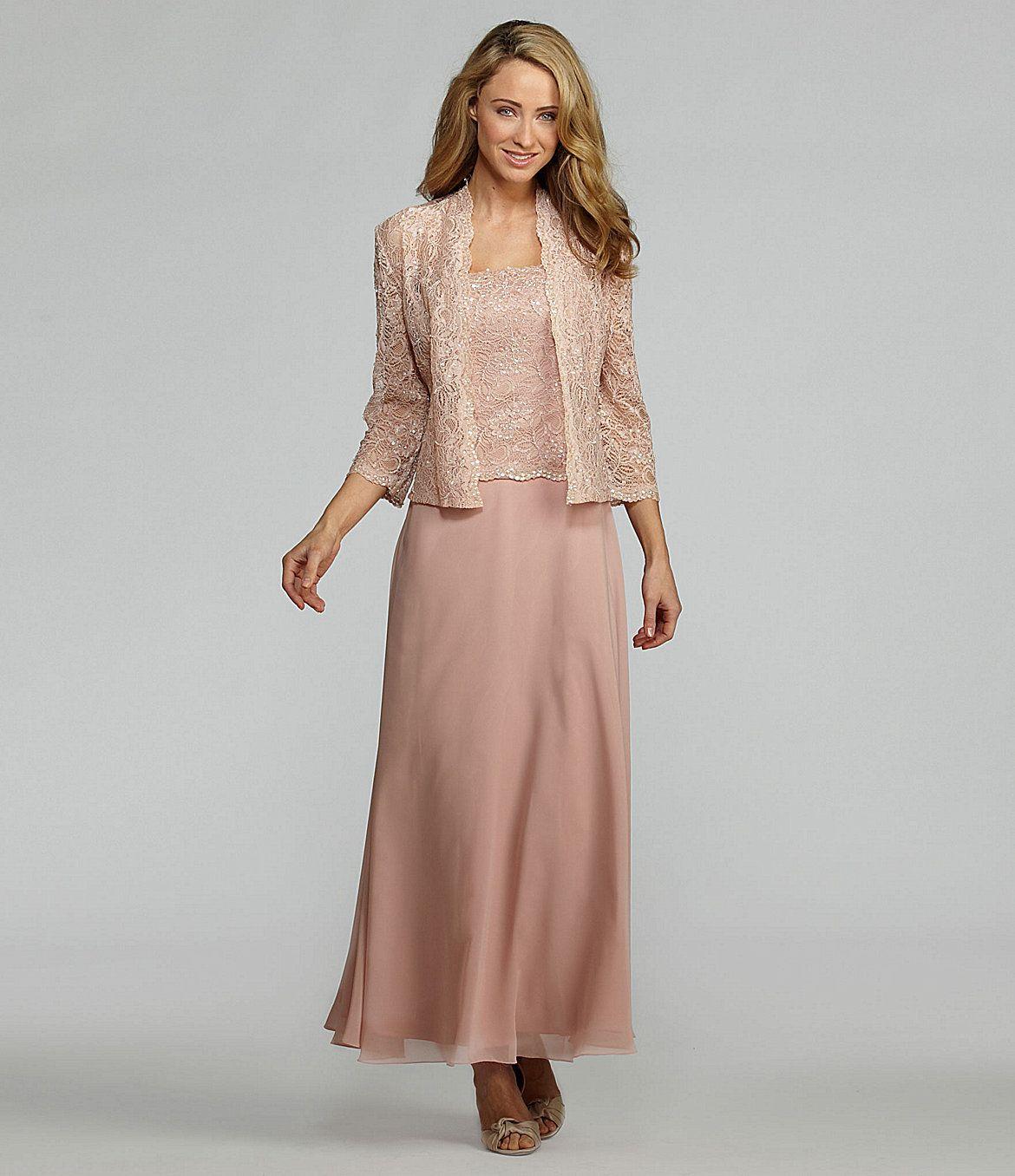 e71415b1610 KM Collections Lace Jacket Dress