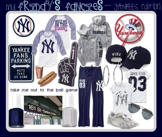 Yankees Pink by Victoria's Secret