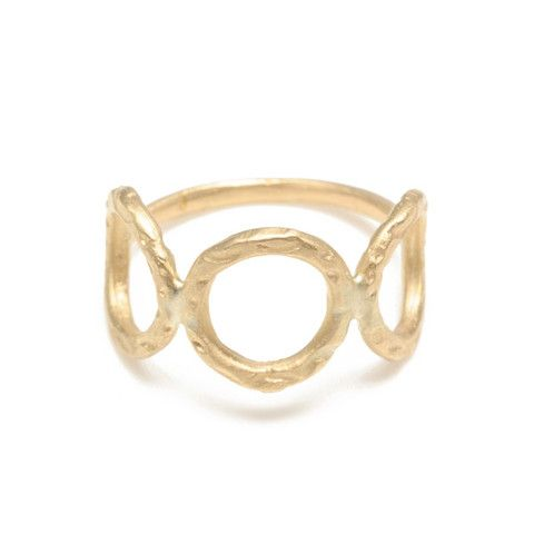 Page Sargisson circle ring.  So delicate and scrummy.