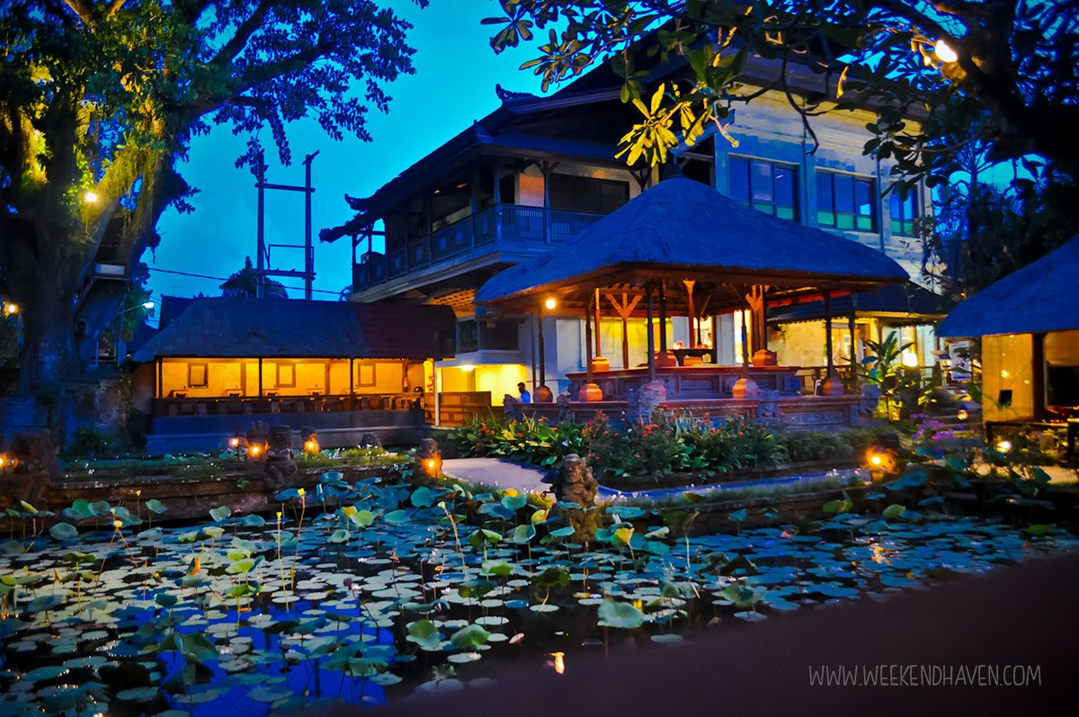 Lotus Cafe, #Ubud #Bali - Show de dança balinesa Official Site http: