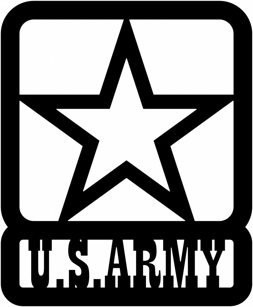 Us Army Star Dxf File Cnc Artisan Dxf Files Cnc Cricut Projects Vinyl Plasma Cutter Art