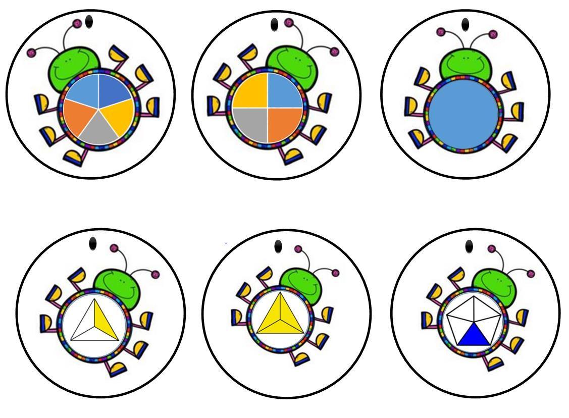 Cartes A Choix Fractions Et Decimaux