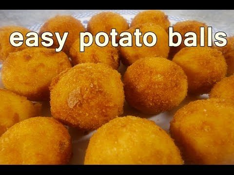 Fried potato balls tasty and easy food recipes for dinner to make fried potato balls tasty and easy food recipes for dinner to make at home cooking videos forumfinder Image collections