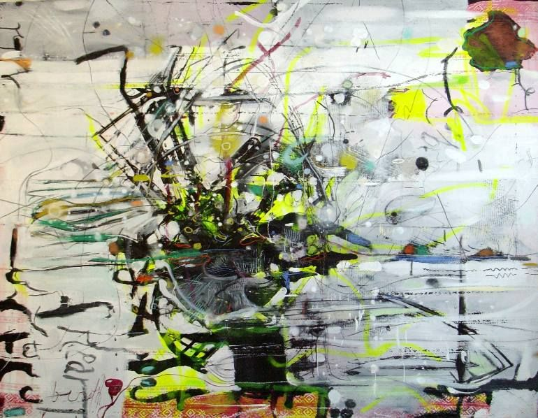 "Saatchi Art Artist Mikołaj Obrycki; Painting, ""Tree"" #art"