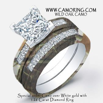 Camo Wedding Set I Will Have This Camo Wedding Rings Camo Wedding Rings Sets Camo Rings