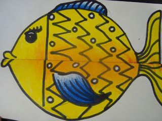 Once upon an Art Room: Freaky Fish