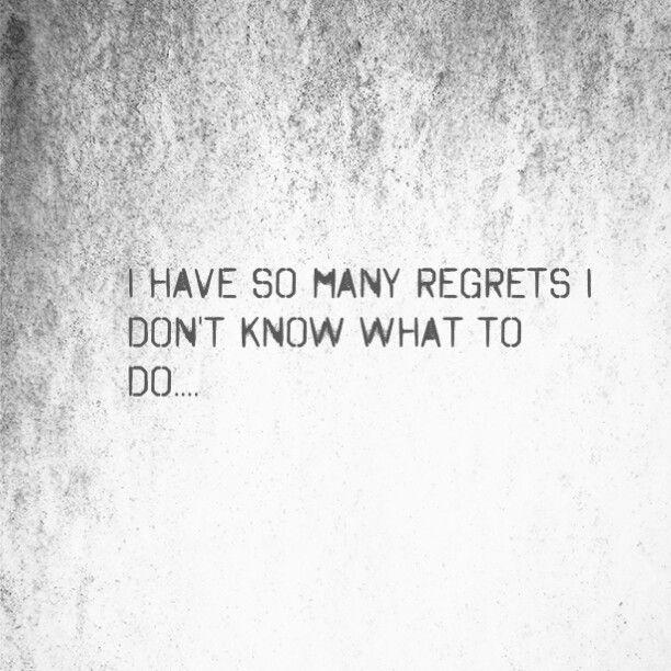 So many stupid things I've done