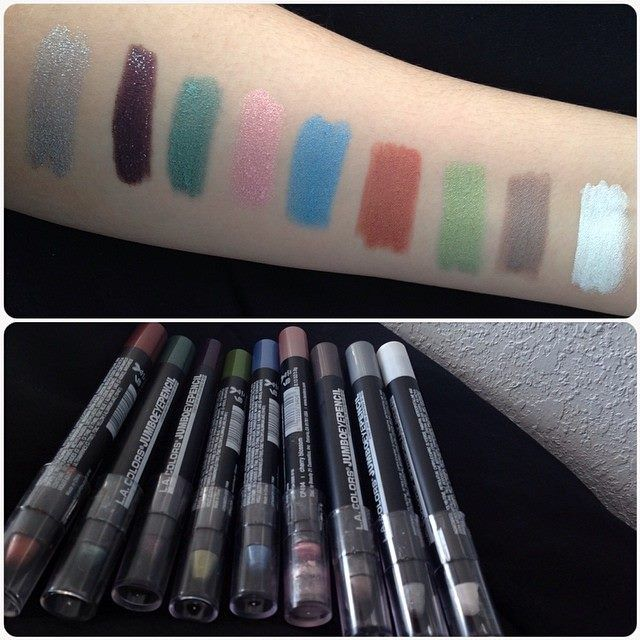 """LA Colors """"L.A Colors Jumbo Eye Pencils are #AMAZING . They blend really nice, pigmented, last long, creamy & affordable!"""" -@gabrielaaxox1 on Instagram"""