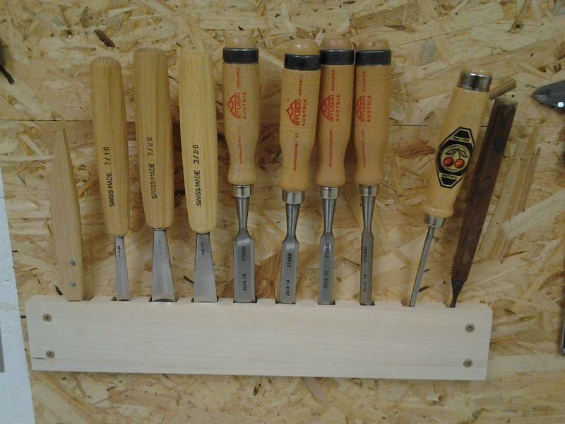 015 halterung fuer stemmeisen woodworking stemmeisen werkstatt werkstattorganisation. Black Bedroom Furniture Sets. Home Design Ideas