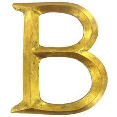 Gold B Hobby Lobby Letter Which Can Be Painted Distressed Etc Traditional Artwork Brushed Nickel Spray Paint Hobby Lobby Letters