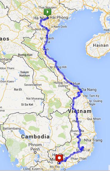 Cycling Vietnam The Ultimate Diy Guide Vietnam Vietnam Visit