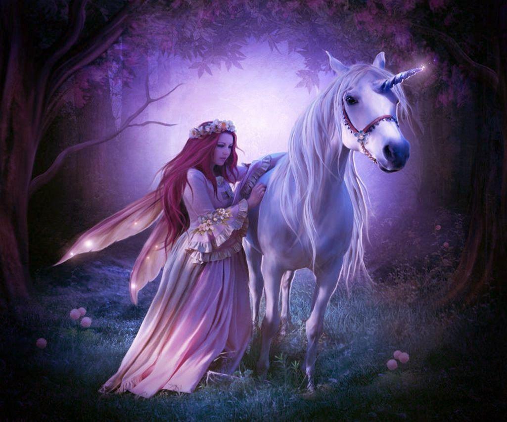 Fantasy Art - Unicorns Galleries Faeries Unicorn