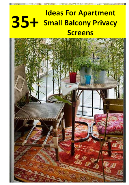 35+ Ideas For Apartment Small Balcony Privacy Screens #Apartment #Balcony #Privacy #Screens