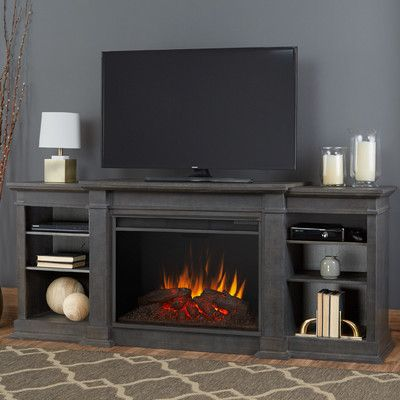Real Flame Eliot Tv Stand For Tvs Up To 78 Inches With Electric