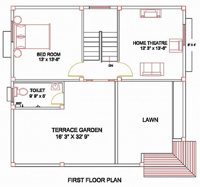 Column Layout For First Floor Home Design Plans Layout House Designs Exterior