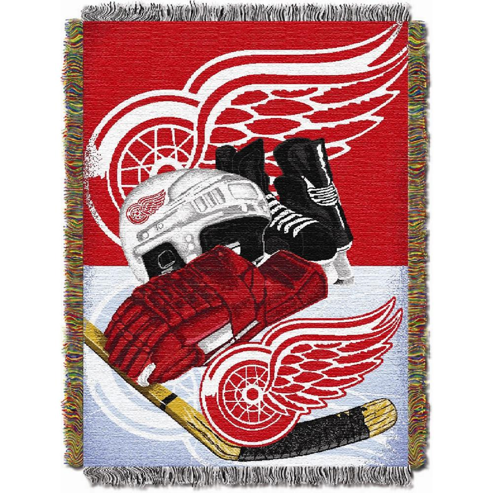 The Northwest Company Officially Licensed NCAA Home Field Advantage Woven Tapestry Throw Blanket 48 x 60