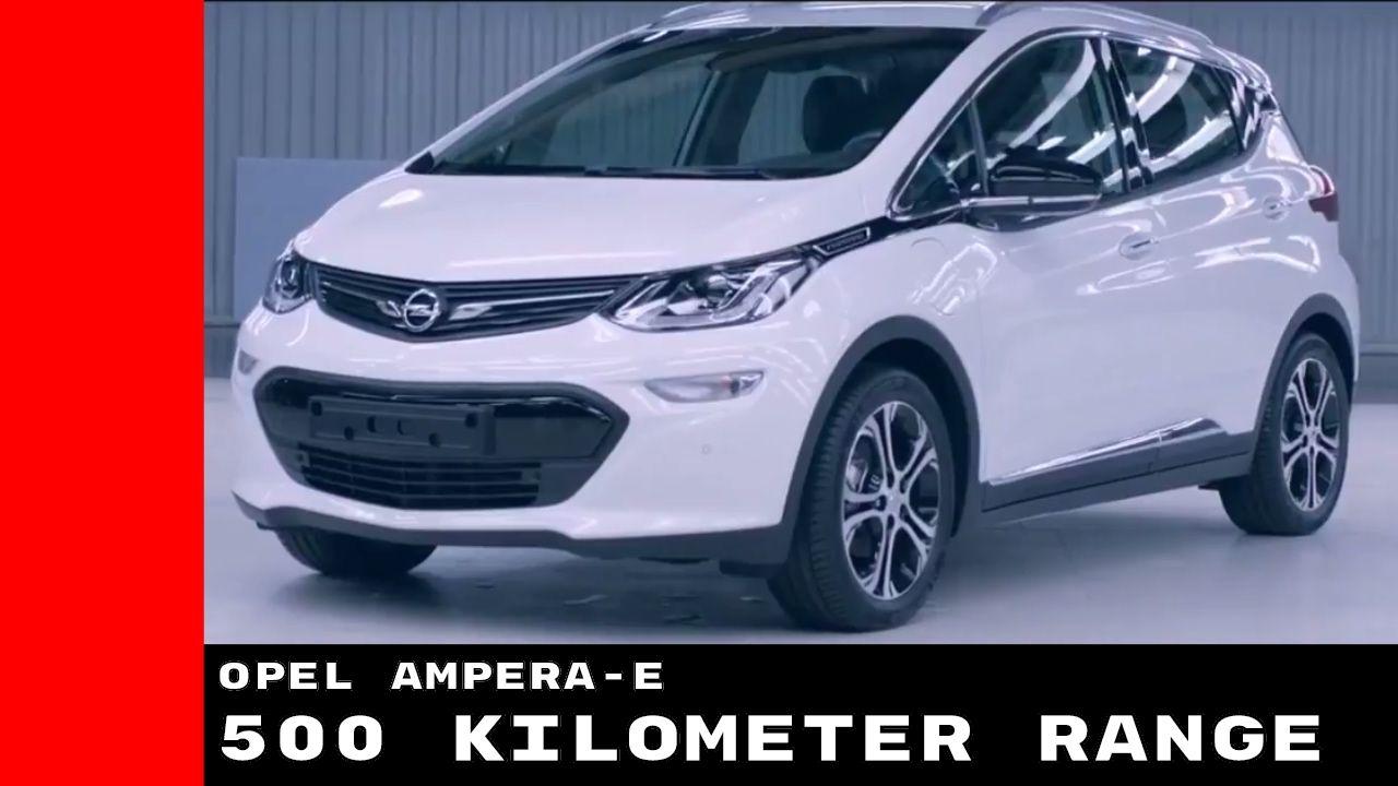2017 Opel Ampera-e 520 Kilometer Introduction & Production Factory