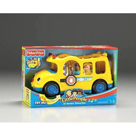 Birthday Return Gifts At Walmart Happy Little People Lil Movers School Bus