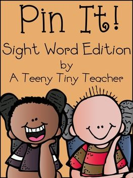 Pin It! Sight Word Edition