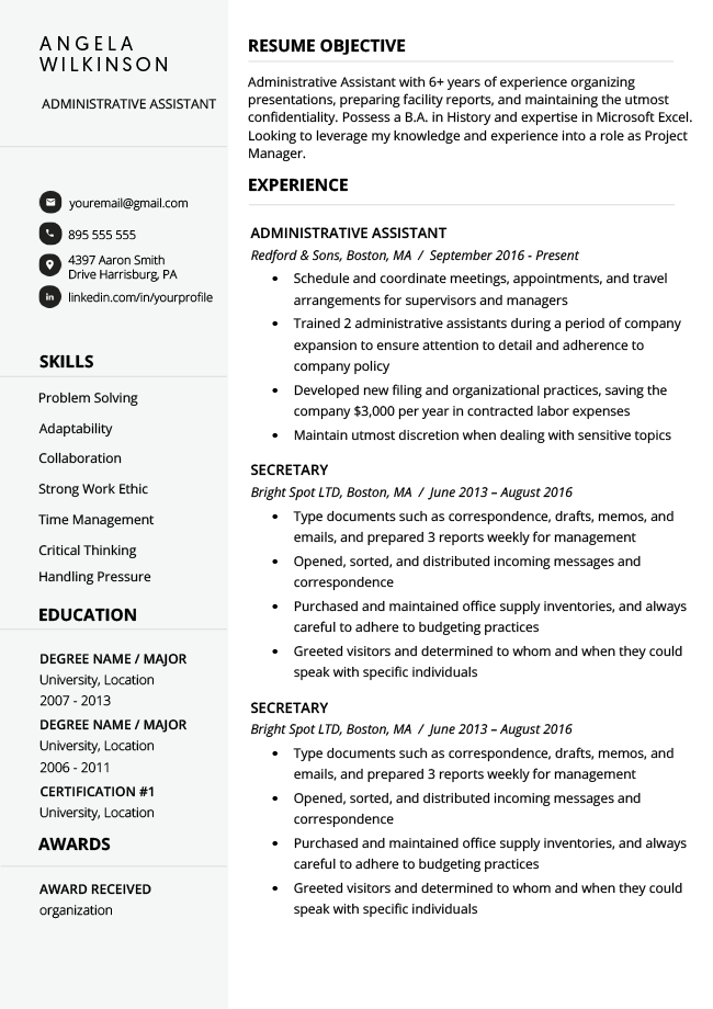 40+ Modern Resume Templates Resume templates, Resume