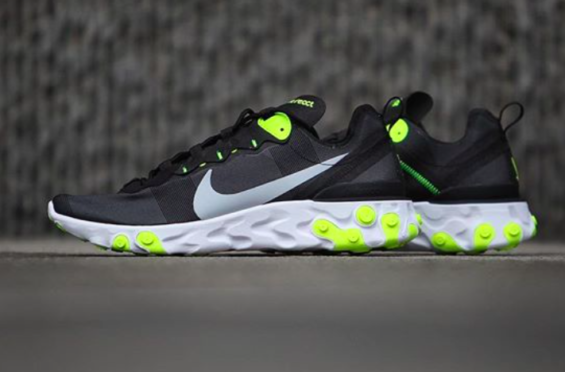 Nike React Element 55 Volt Coming Soon The new and upcoming Nike React  Element 55 is 9acaefa6d