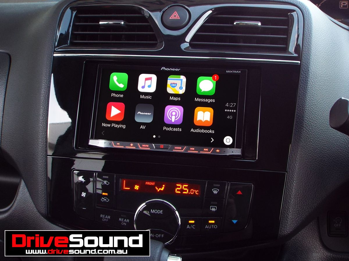 Nissan Serena with Apple CarPlay installed by DriveSound.   Apple ...