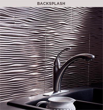 fasade - decorative thermoplastic panels   backsplash   pinterest