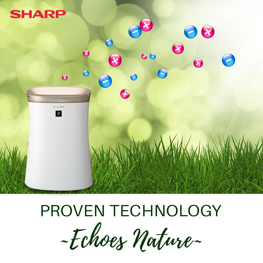 Sharp Air Purifiers Are Armed With The Proven Plasmacluster Ion