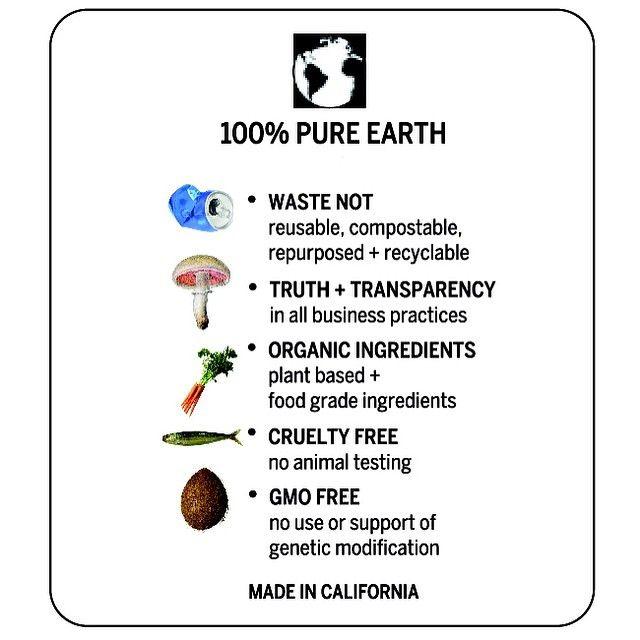 100% Pure Earth  #earthtuface