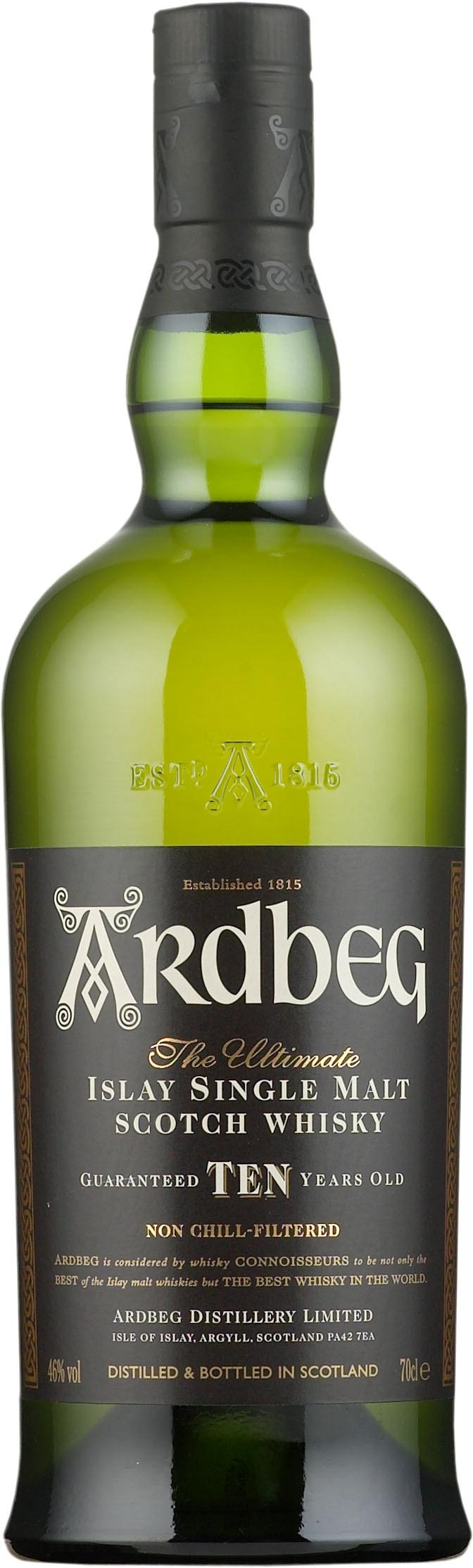 Ardbeg 10 Year Old Single Malt tuotekuva