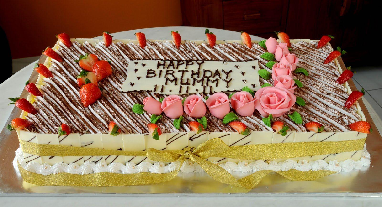 Enjoyable Big Tiramisu Birthday Cake With Images Big Birthday Cake Kids Funny Birthday Cards Online Necthendildamsfinfo