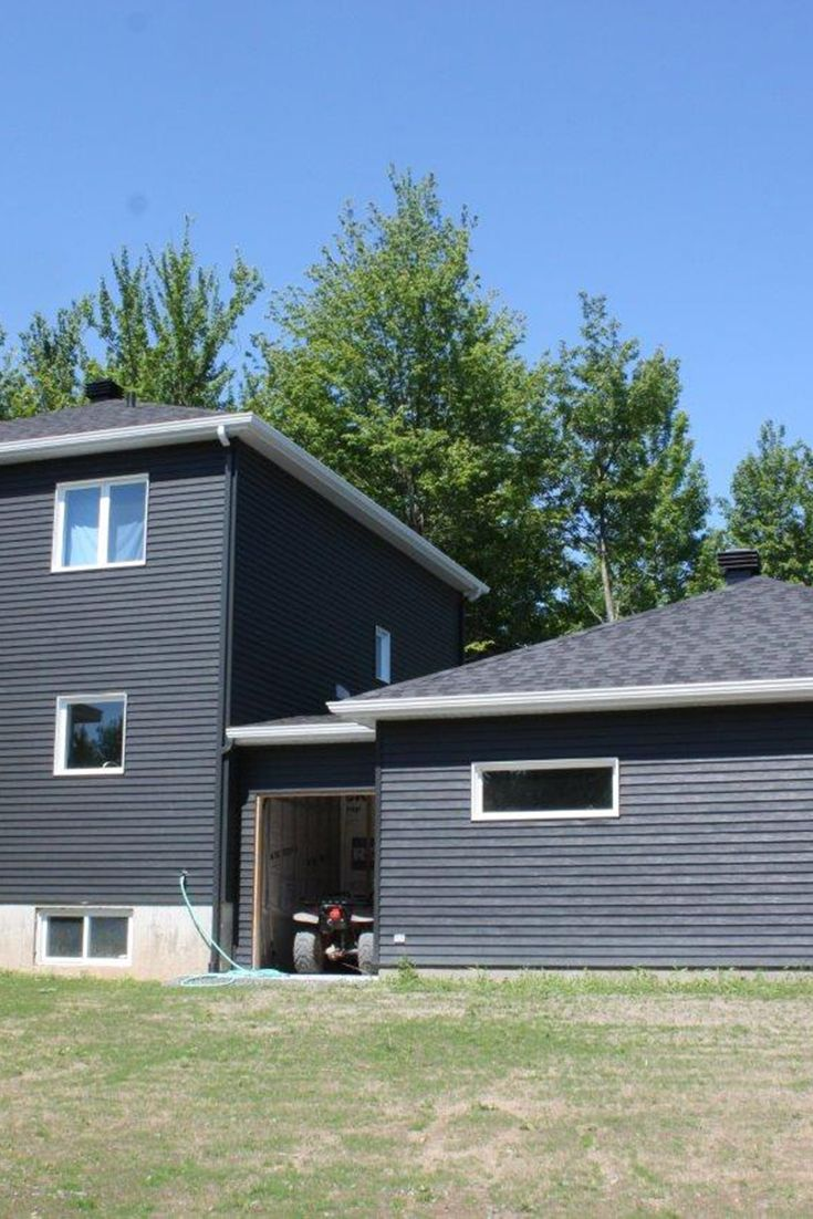 Exterior Home Decor Sierra Steel In Iron Ore Sierra Steel Siding Exterior Design