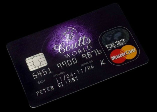 Coutts World Silk Card Credit Card Design Credit Card Cards