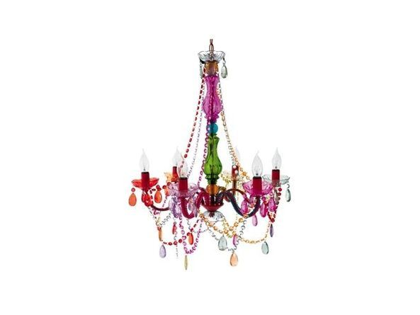 Beautiful coloured glass gypsy style chandelier 6 arm buy gypsy chandelier multicolored at wish shopping made fun aloadofball Images