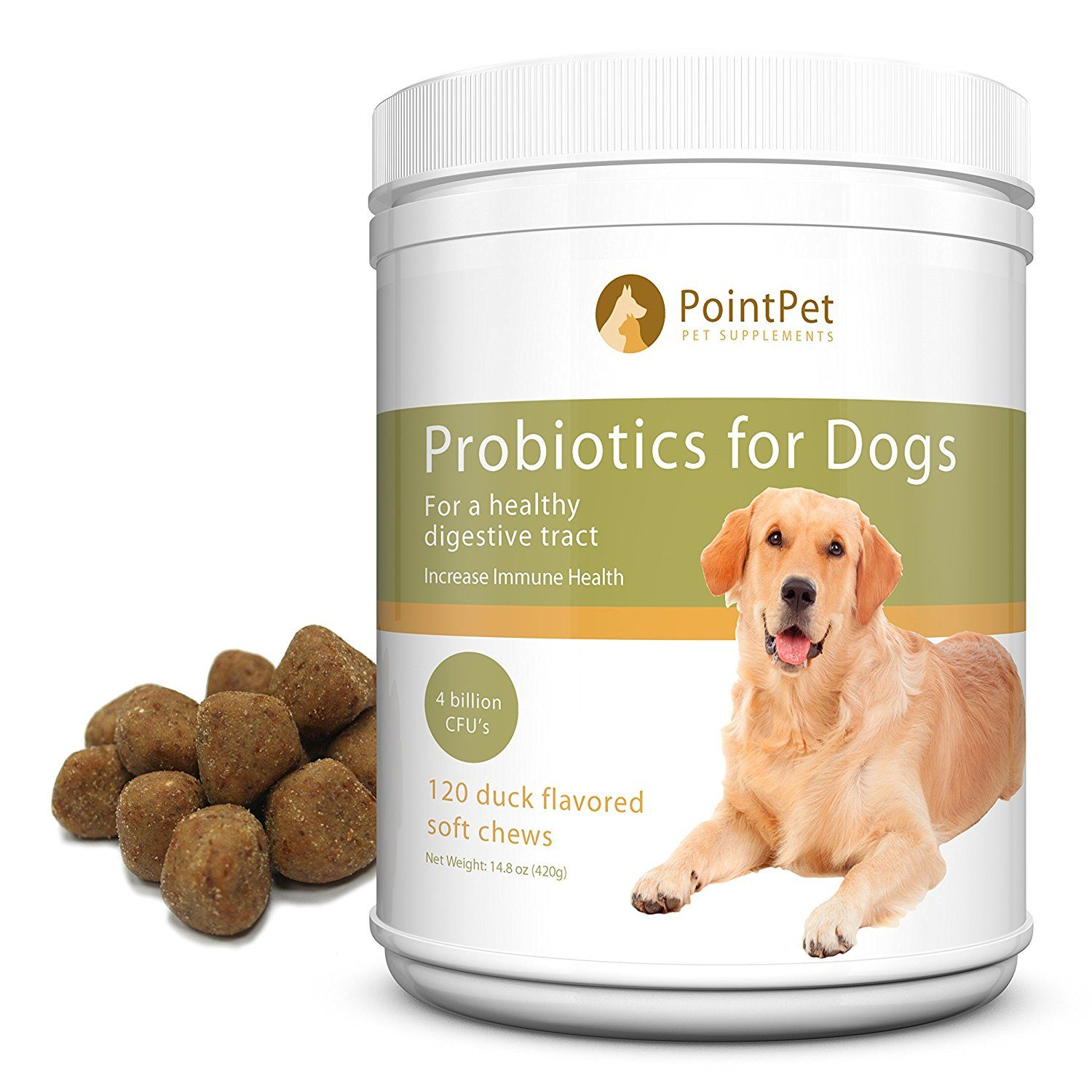 Complete Chewable Probiotics and Prebiotic for Dogs - Best Support ... | Dog Food Allergy Bad Breath