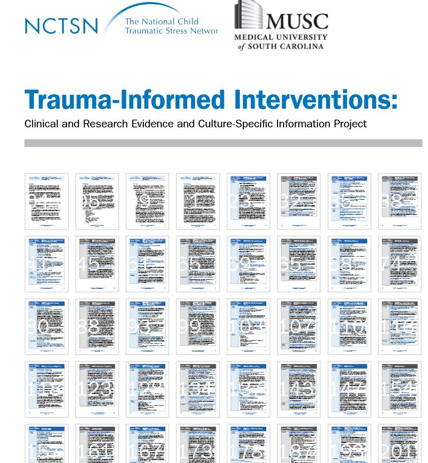 Trauma-Informed Interventions - Clinical and Research Evidence and ...