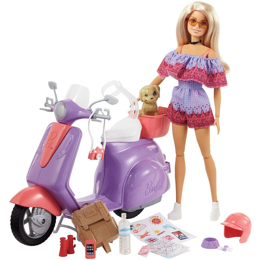 Barbie Doll PINK /& PURPLE SCOOTER  NEW OUT OF PACK