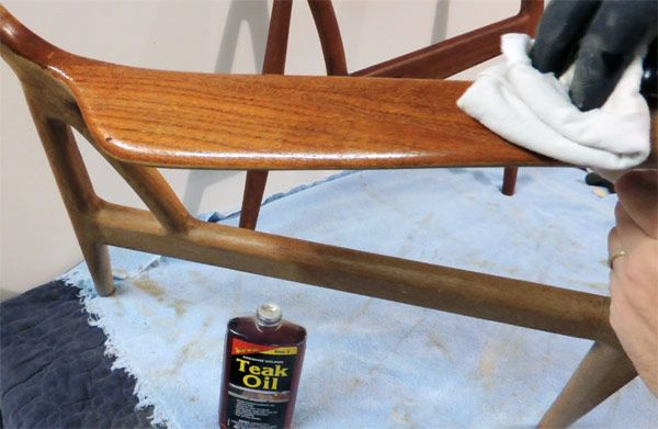 Exceptionnel Danish Teak Chair Restoration   Oil