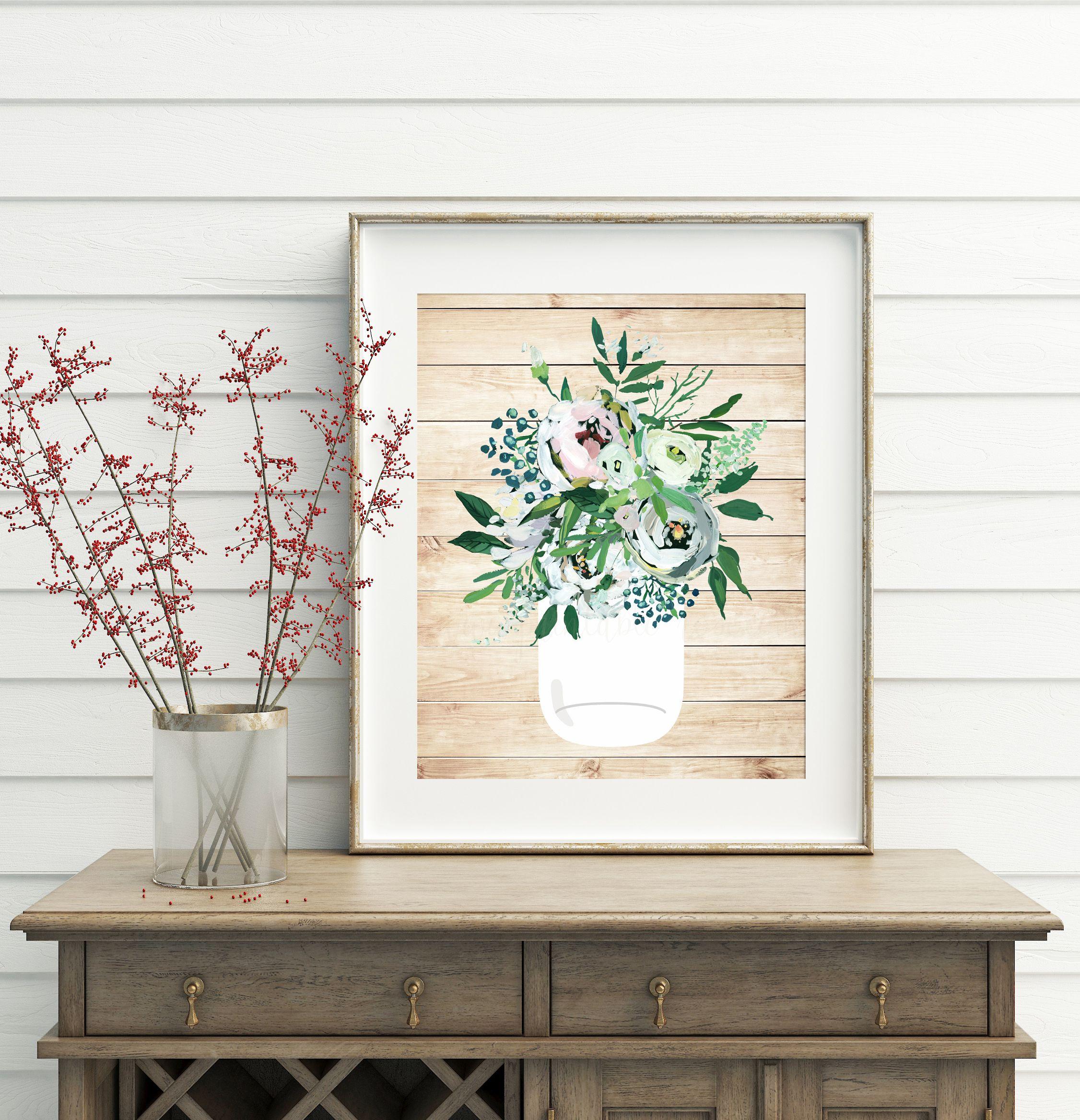 Shabby Chic Decor Printable Wall Decor Shabby Chic Wall Decor