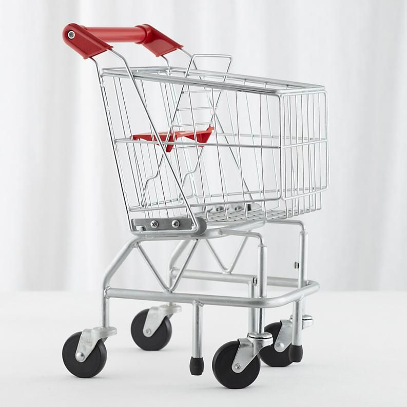 Child's Play Metal Shopping Trolley