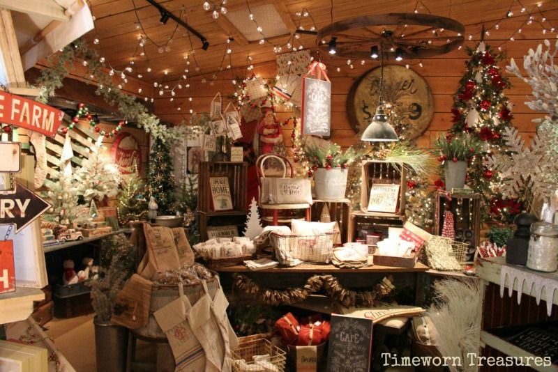 Pin By Beth Hicks On Antiques Christmas Booth Christmas