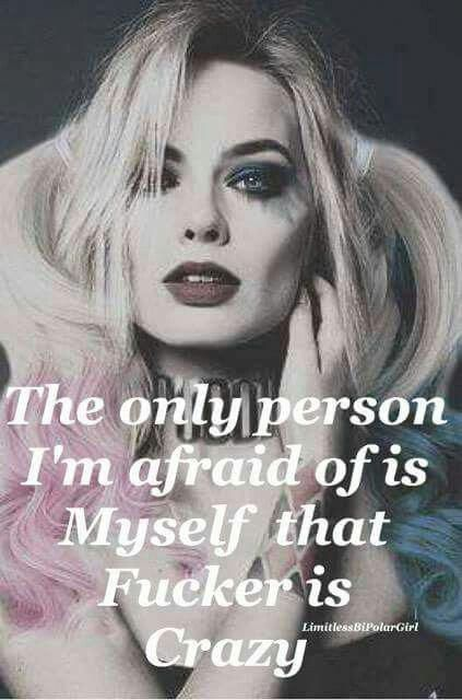 not one other person scares me more than myself and God!!! #harleyquinnquotessad - #Center #Comida #Diet #Female #Food #Frauen #God #harleyquinnquotessad #Motivation #person #Quotes #scares #Training #Workouts
