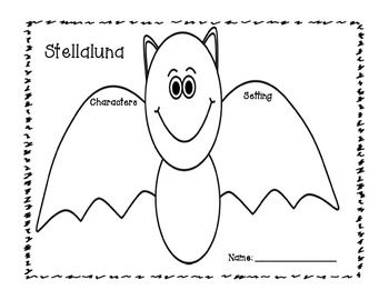 Stellaluna Comprehension Freebie!! {Character, Setting