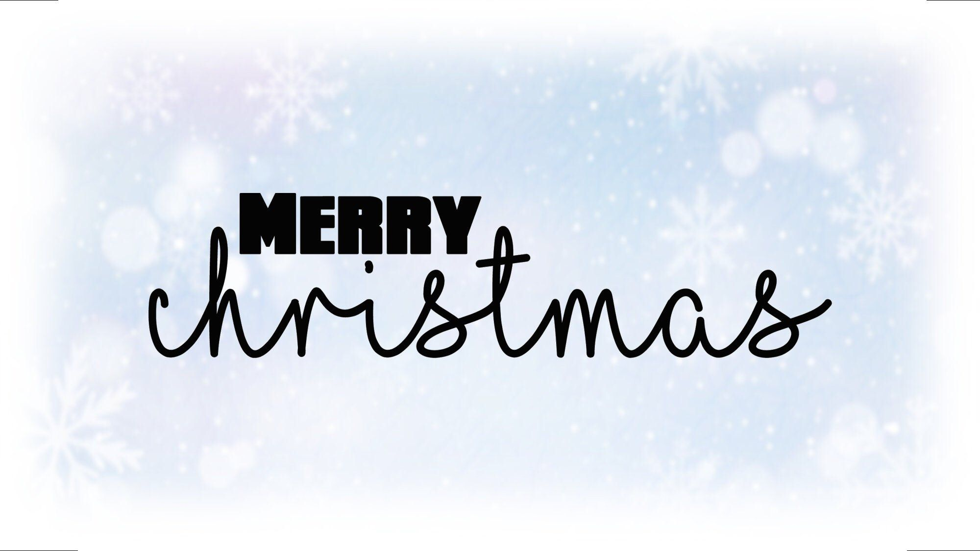 Download Holiday Clip-Art: Black & White Merry Christmas   Etsy ...