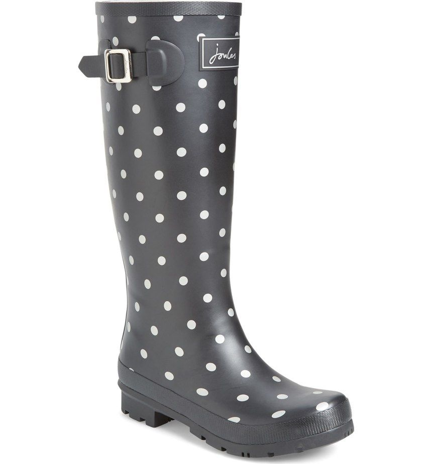 Playful Patterns Perfect A Puddle-Proof Rubber Rain Boot -7717