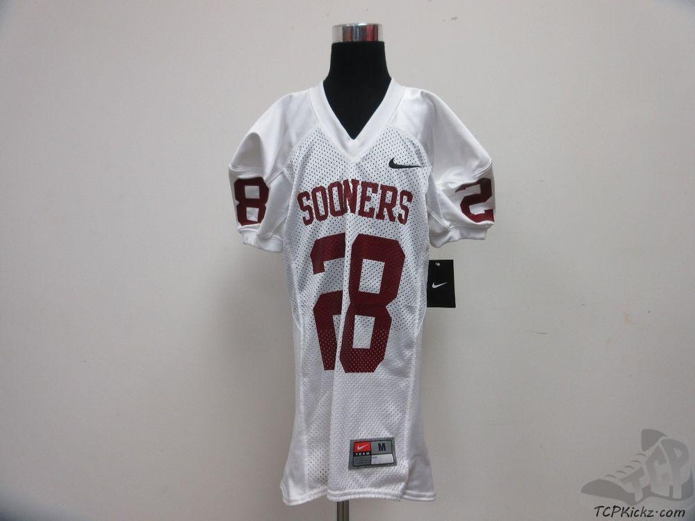 Nike Oklahoma Sooners Football Jersey  28 sz Youth M Medium University NCAA  OU  Nike bc85407a7